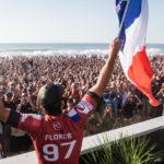 Surf : Jérémy Flores remporte le QuickSilver Pro d'Hossegor ! ( + Vidéo )